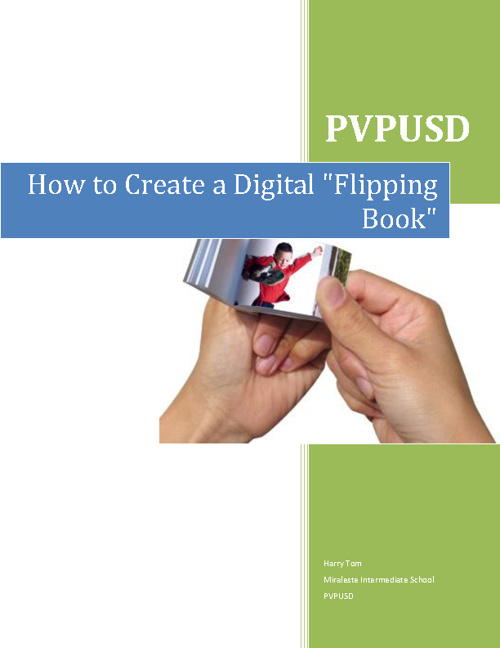 How to create a Digital Flipping Book