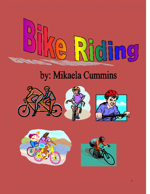 Mikaela-Ride a Bike