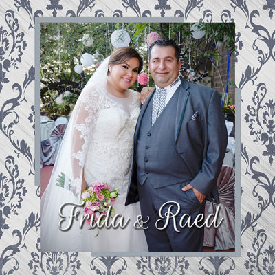 Boda Frida y Raed Photobook