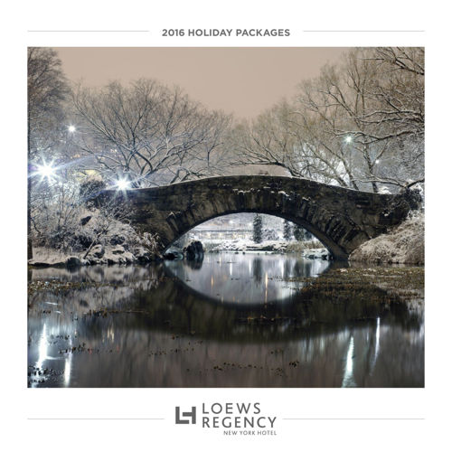 Loews Regency New York - 2016 Holiday Packages