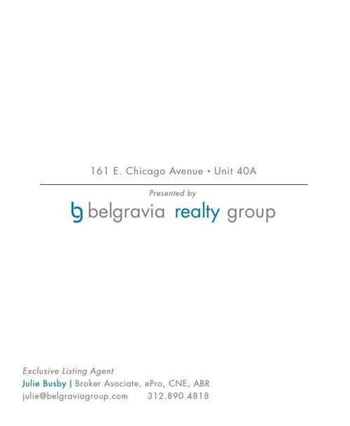 161 E Chicago Unit 40A Brochure