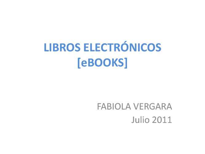 eBooks FVR