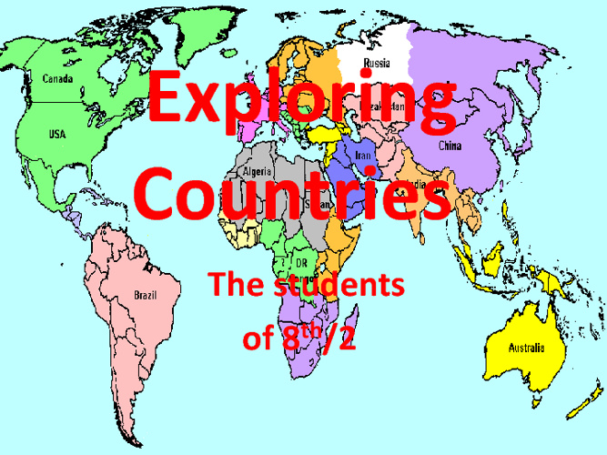 Exploring Countries