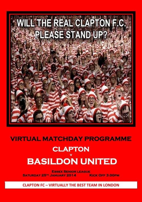 Clapton FC v Basildon United FC
