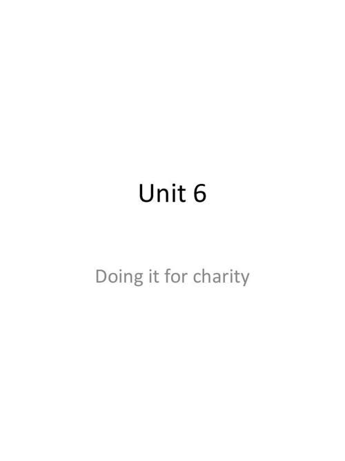 Unit 6 ING 104 summer 2014