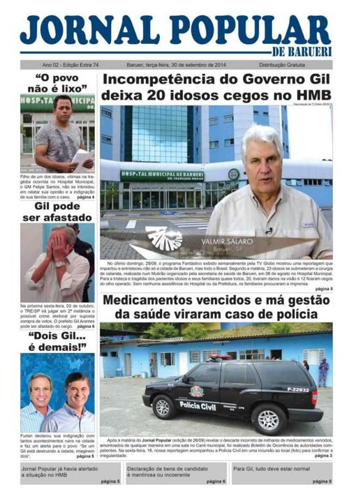 74ª edição do Jornal Popular de Barueri