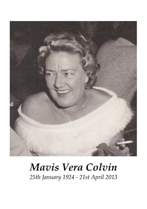 Mavis Colvin