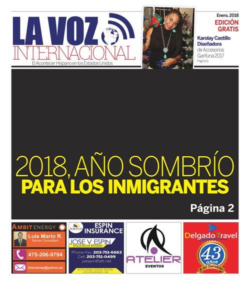 LA VOZ INTERNACIONAL ENERO 2017