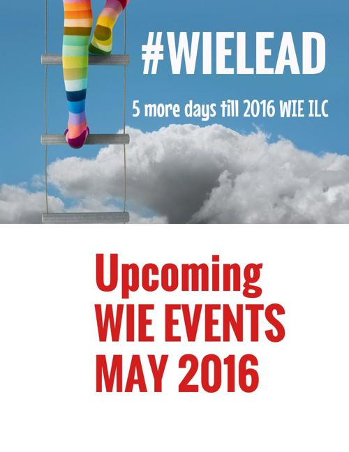 WIE Events May 2016