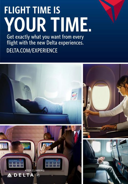 Delta Air Lines International Classes of Service
