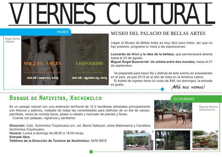 03 de Julio 2015 Viernes Cultural VI