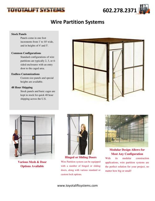 Wire Partition Systems