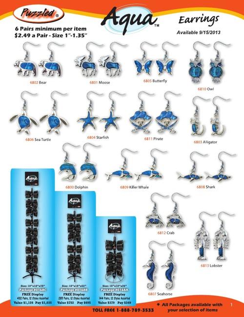 Aqua Jewelry