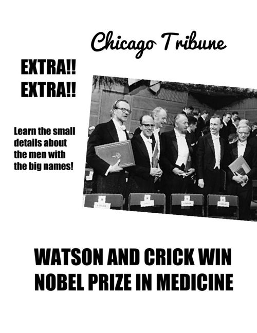 Chicago Tribune Watson and Crick