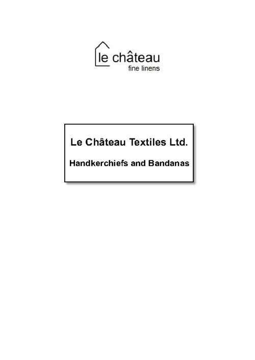 Le Chateau catalogue 20.11.12