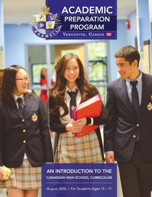 Bodwell APP Brochure 2016