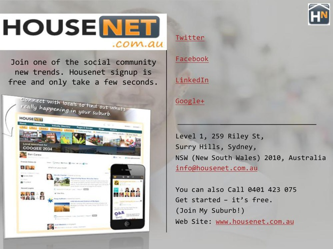 Housenet.com.au in Sydney, NSW Australia
