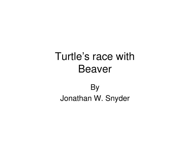 Turtle's race with [Compatibility Mode]