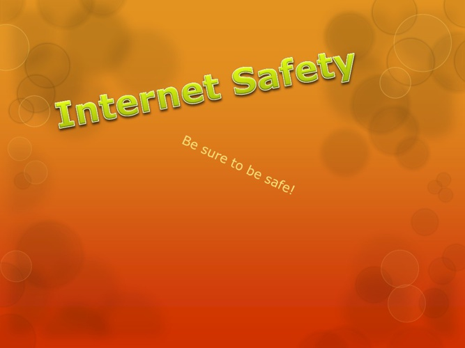 Interweb safety