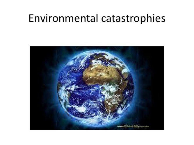 Let's save the earth
