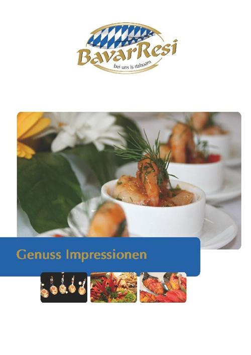 BavarResi Menü-Preis-Genuss-Katalog März 2012