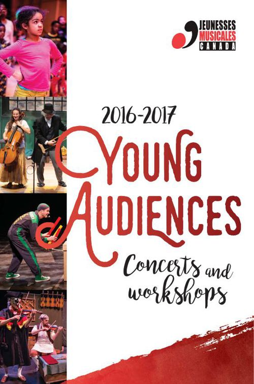 JMC - Young Audiences Brochure 2016-2017