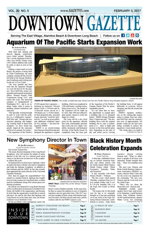 Downtown Gazette  |  February 3, 2017