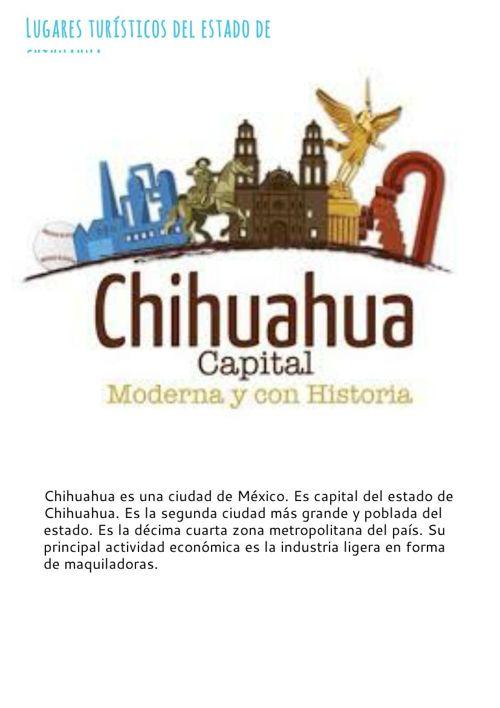 Lugares turisticos de Chihuahua