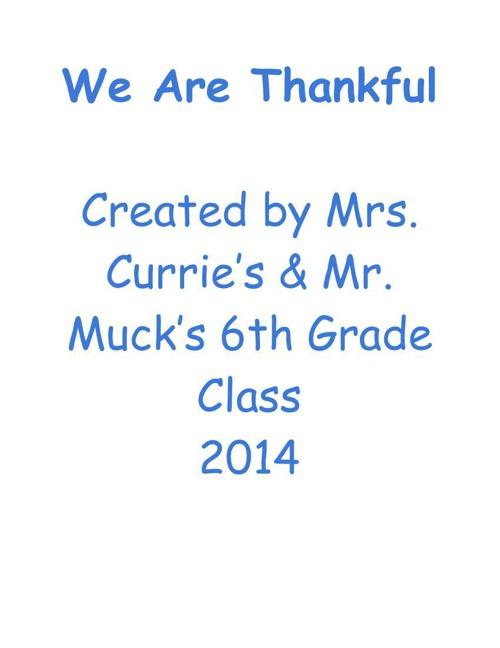 Thankful - V1