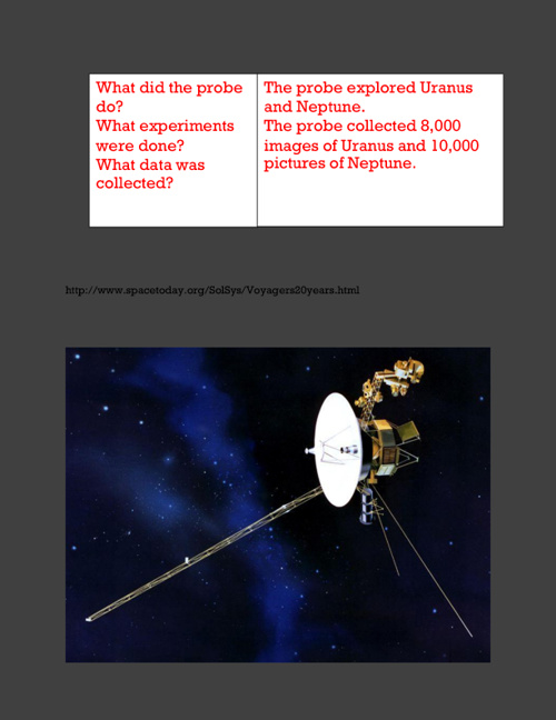 The Voyager 2 Explores The Outer Planets