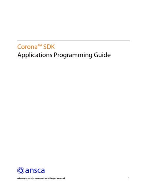 Guia de Programação APP