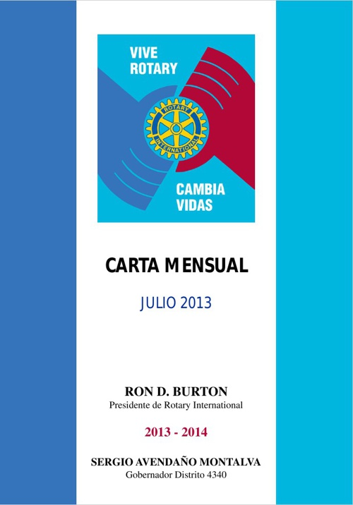 Carta Mensual Julio 2013