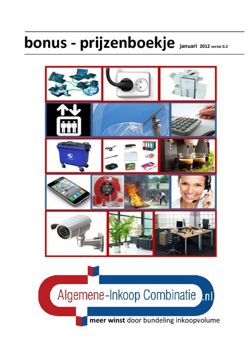 AiC - Bonus & Prijzenboek - alle pagina's