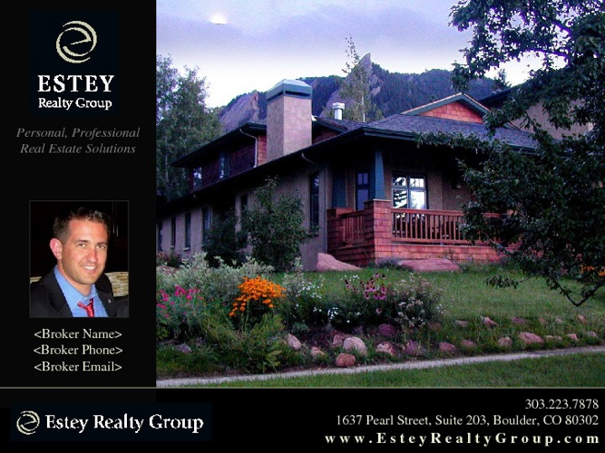 Estey Realty Group Listing Presentation