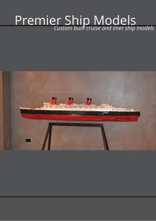 Cruise and Liner Model Ships