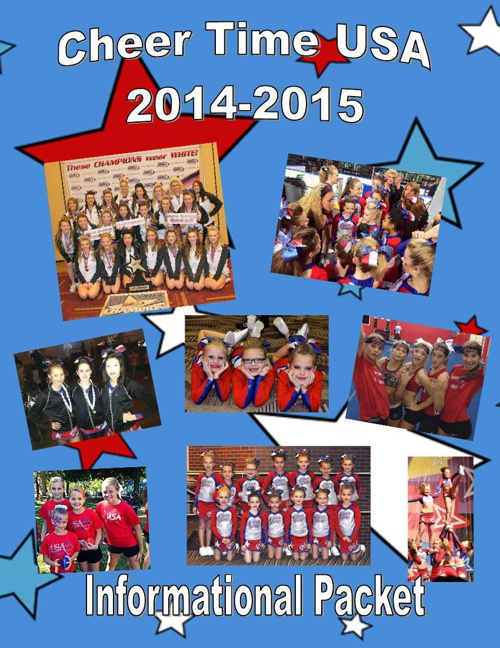 Cheer Time USA 2014-2015 Informational Packet