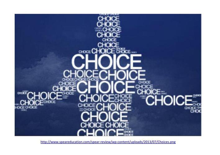 Choices R 10a