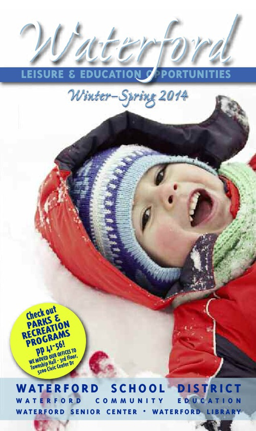 Copy of Waterford Leisure & Opportunities Winter/Spring 2014