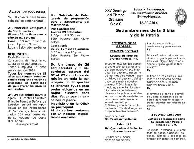 Boletín 684 (18-09-16)