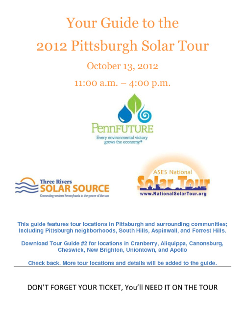 Pittsburgh Solar Tour