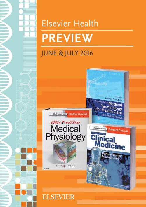 Elsevier Health Preview June & July 2016