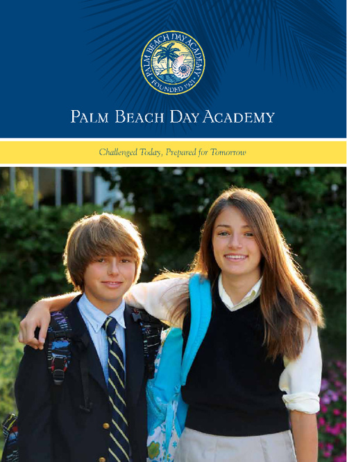 Palm Beach Day Academy Admission View Book