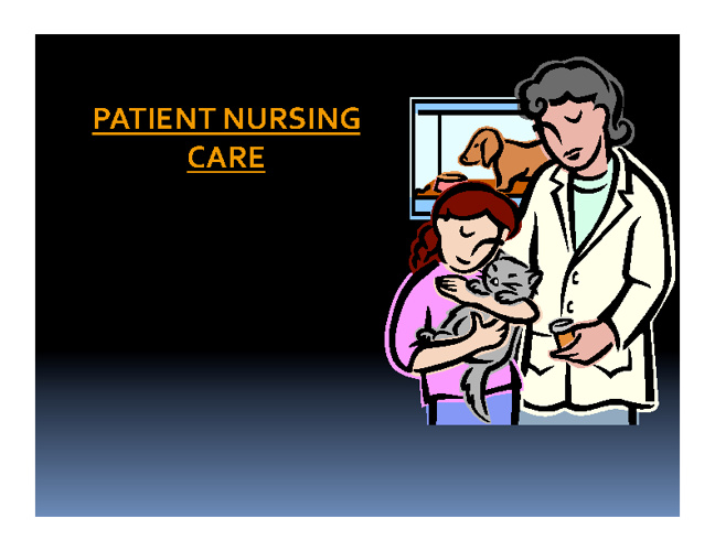 Veterinary Nursing Care