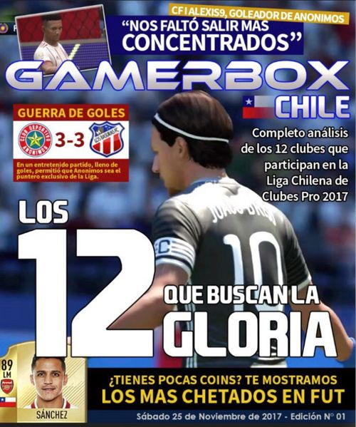 Revista GamerBox Chile Edición 01