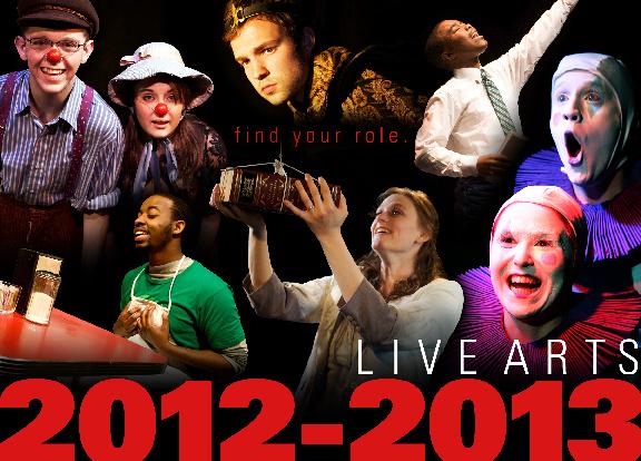 Live Arts 2012 - 2013 Season