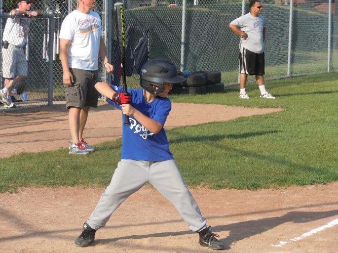 Our Baseball Boy in Blue