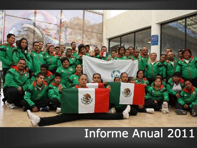 Informe Anual 2011 Olimpiadas Especiales México