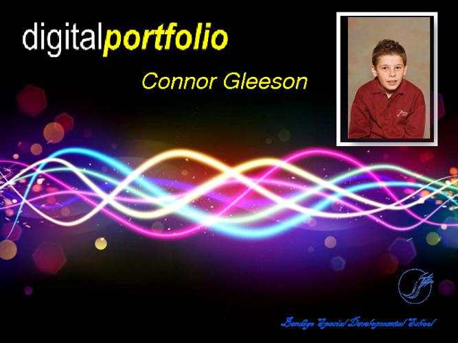 Connor's 2012 Portfolio