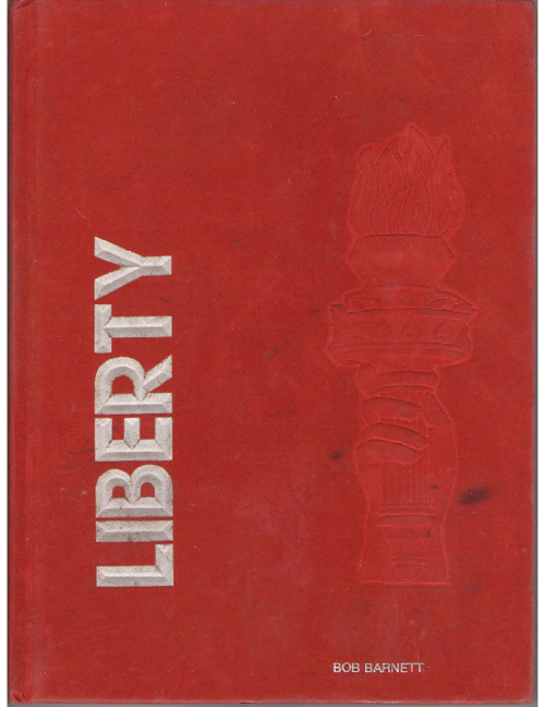 Liberty Mounds Yearbook 1985-86