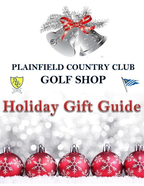 PCC Golf Shop Holiday Guide